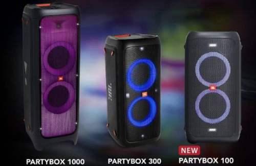 JBL Rilis Trio Speaker JBL PartyBox Untuk Penggila Pesta