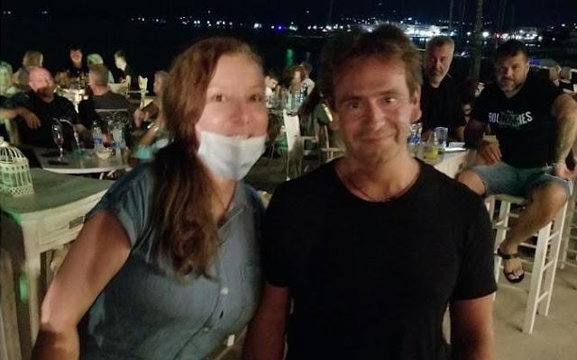 Διακοπές στο Άστρος κάνει ο παγκόσμιος Έλληνας πρωταθλητής Δημοσθένης Ταμπάκος