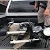 Moto depenada é encontrada pela Polícia Militar dentro de matagal no município de Sousa