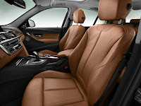 2013 BMW 3-Series (F30) 328i Sedan Luxury Line Interior Front Seats