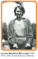 Image of Loretta McGeough (1896-1976), c1922.