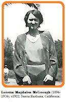Image of Loretta McGeough (1896-1976), c1922.
