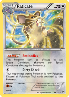 Raticate BREAKpoint Pokemon Card