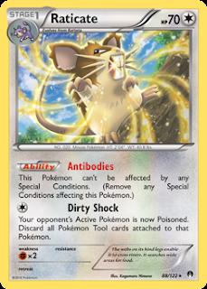 Raticate BREAKpoint Pokemon Card