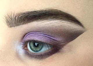 Purple cateye