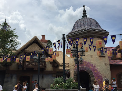 Image of the Tangled area at Disney's Magic Kingdom in Orlando