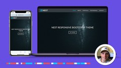 Bootstrap 4 Website Built From Scratch In 3 Hours
