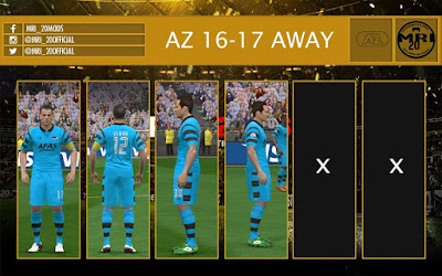 AZ Alkmaar 16-17 Away Kit