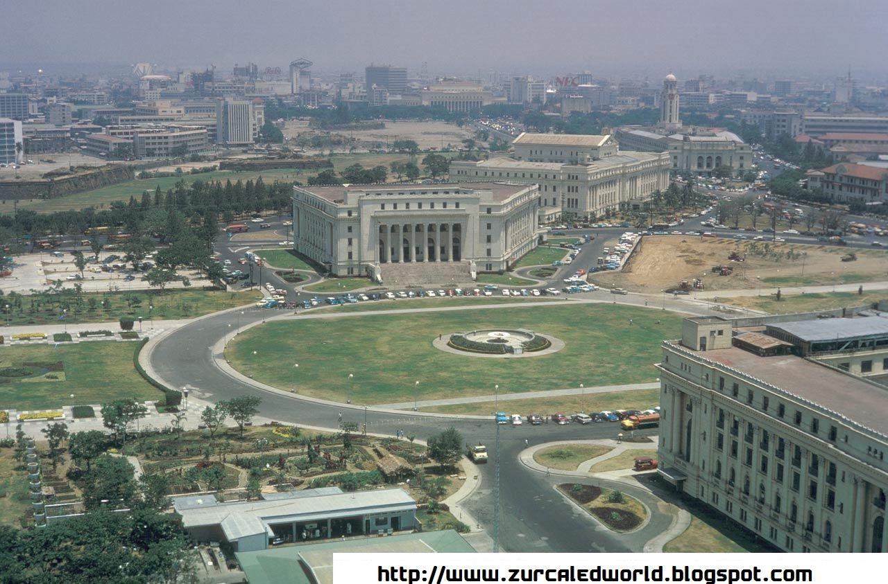 The Metro Manila During Those Times