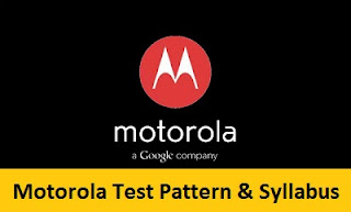 Motorola Test Pattern