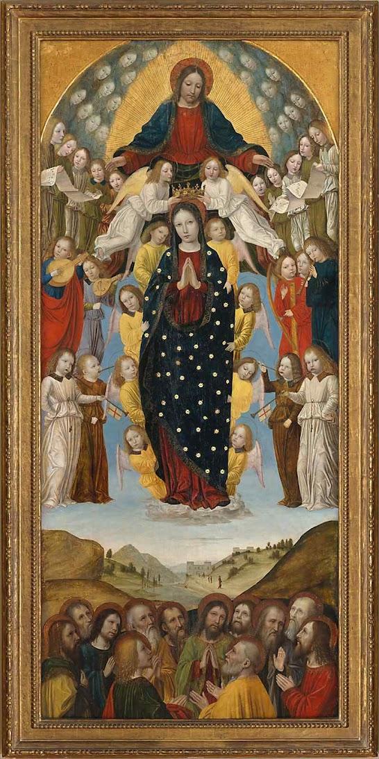 Assunção de Nossa Senhora. Ambrogio Bergognone (1470 - 1523-1524), Metropolitan Museum of Art, NYC