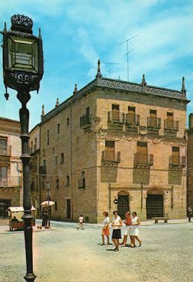Ciudad Rodrigo, Casa de los Cuetos, postal