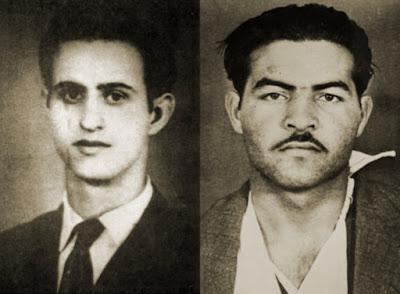 Ο Μιχαήλ Καραολής (αριστερά) και ο Ανδρέας Δημητρίου.