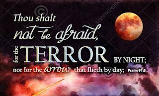 Thou Shall Not Be Afraid