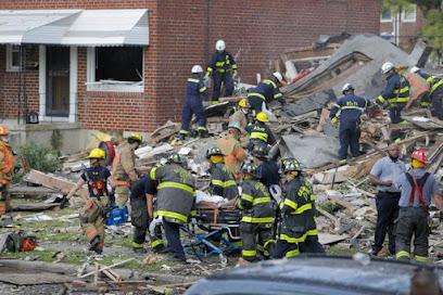 Un fallecido y siete rescatados luego de la explosión de Baltimore