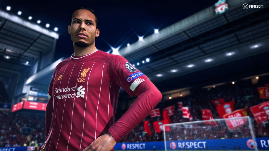 FIFA 20, Virgil Van Dijk, 8K, #3.495 Wallpaper