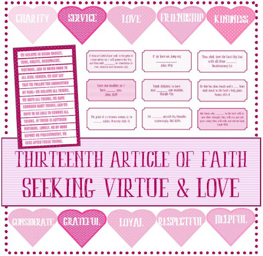 Seeking Virtue and Love - Preparing for Young Women
