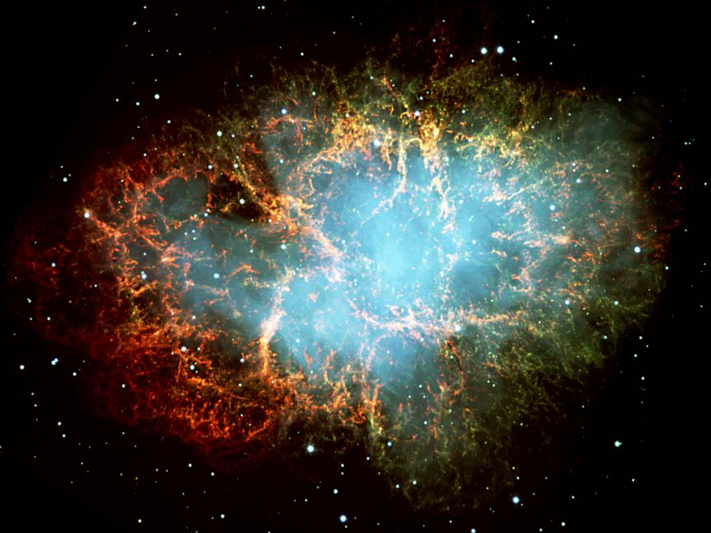 Stunning new Hubble image reveals the 'beating heart' of the crab nebula