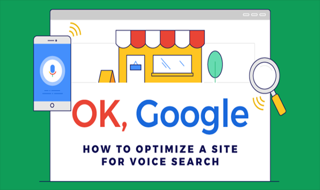 How to Optimize a Site for Voice Search #infographic