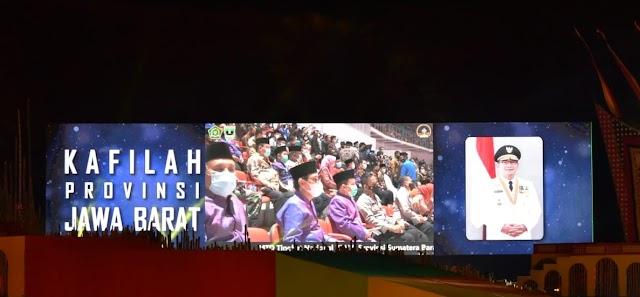 Uu Ruzhanul Bangga, Kafilah Jabar Raih Peringkat Tiga dalam MTQ Tingkat Nasional 2020