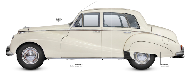 Armstrong Siddeley Sapphire, classic cars