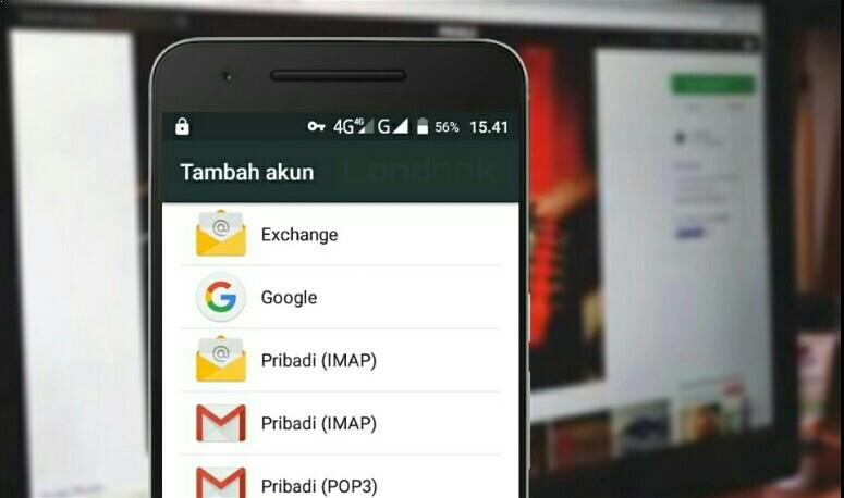 Cara menambahkan 2 akun google di Android lollipop