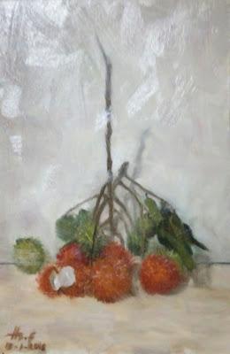 Rambutan Painting