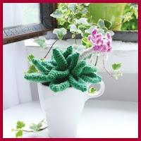 planta amigurumi