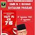 SMK N 1 Ranah Batahan Mengucapkan Selamat HUT RI Ke-76