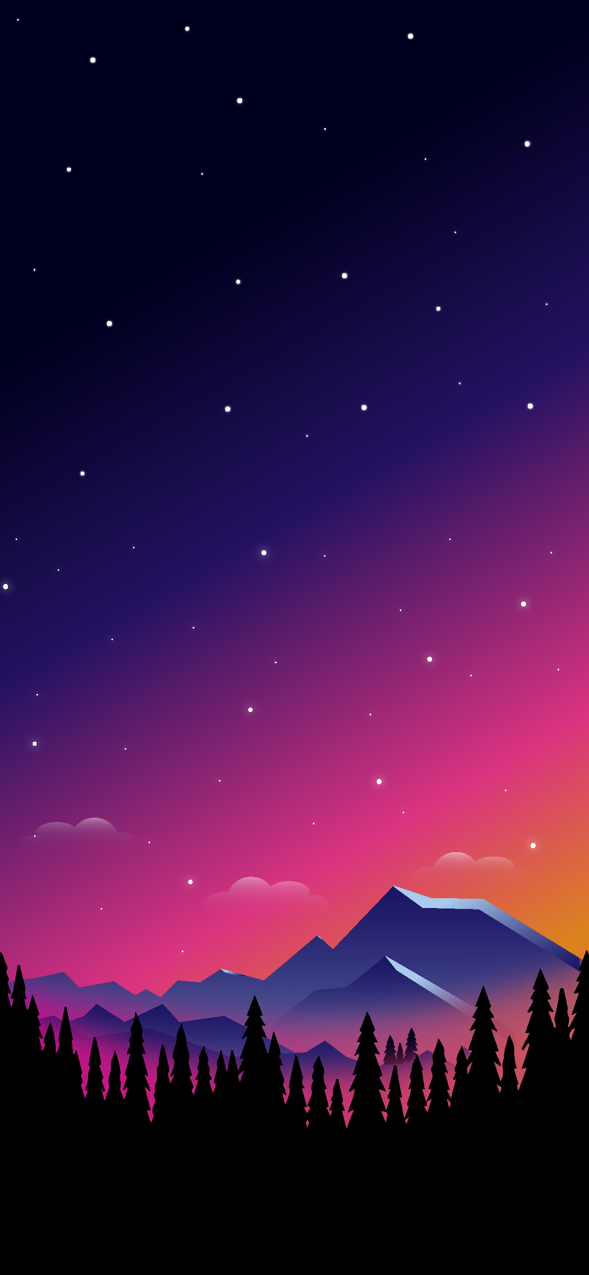 Wallpaper iphone landscape HD 1