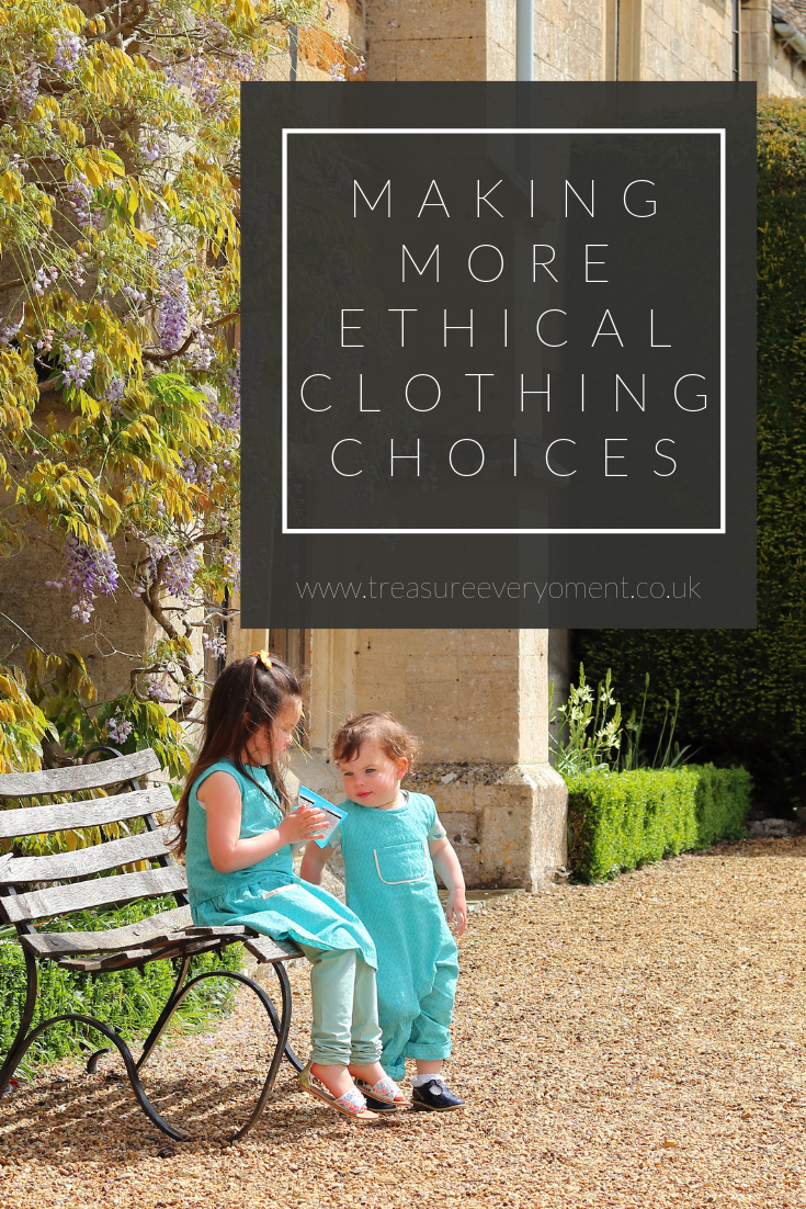 CHILDREN: Making more Ethical Clothing Choices
