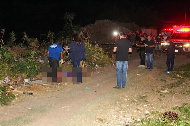 Homem é morto com sete tiros no meio da rua no bairro Barrocas em Mossoró