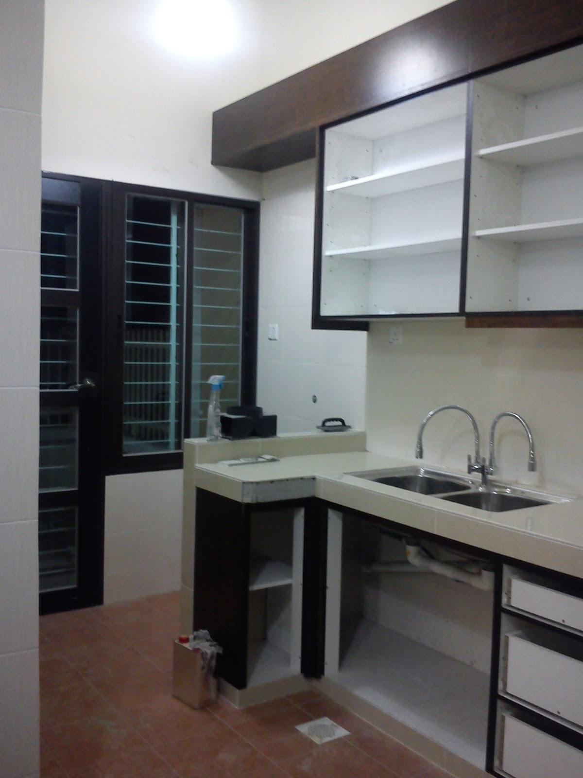 Pindah Rumah Ubahsuai Dapur