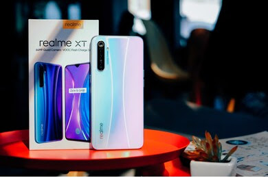 Cara screenshot di hp Realme XT