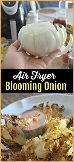 Air Fryer Blooming-Onion Recipe