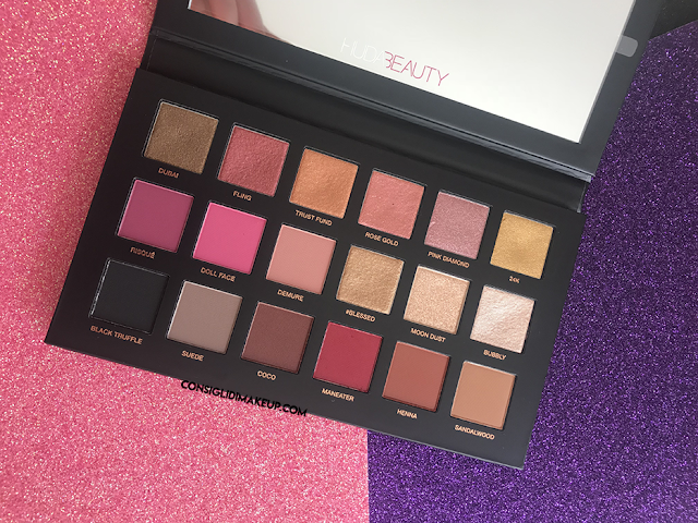 Palette Rose Gold Remastered Huda Beauty
