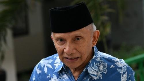 Amien Rais Pastikan TNI-Polri Tidak Terlibat Pembunuhan Enam Laskar FPI