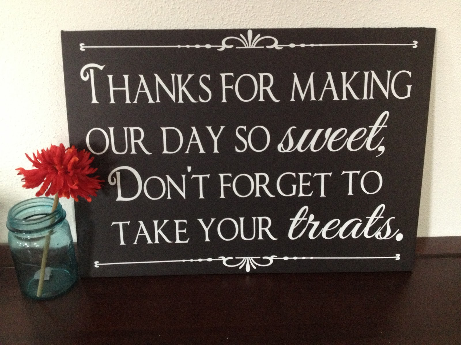 Candy Bar Or Wedding Favors Sign 18