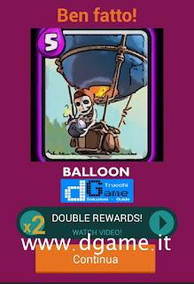 Soluzioni Quiz Clash Royale card livello 40