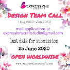 Design team call Aug 2020 - Jan 2021