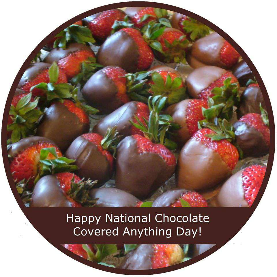 National Chocolate Covered Anything Day Wishes Images download