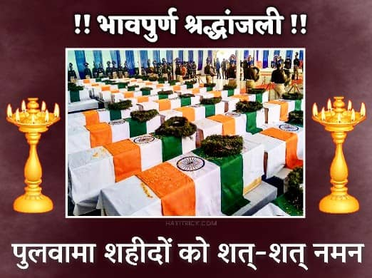 Pulwama Attack Salute to Indian Soldiers