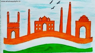 independence day drawing competition ideas