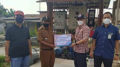 Selamatkan 300 Hektar Sawah, CSR  PT PJB UBJOM PLTU Indramayu Berikan Bantuan Mesin Pompa Air