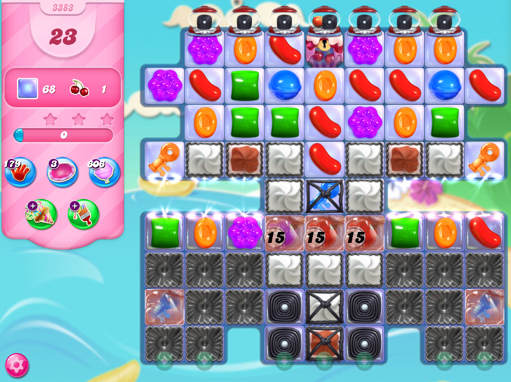 Candy Crush Saga level 3383