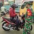 Upaya Memutus Penyebaran Corona, Razia Masker Kembali Dilaksanakan di Rembang