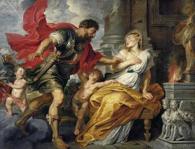 COMBINAZIONE DI COLORI OPULENTA  - RICCA -  SFARZOSA Blog artistah24 - dipinto di Rubens con colori ricchi e sfarzosi