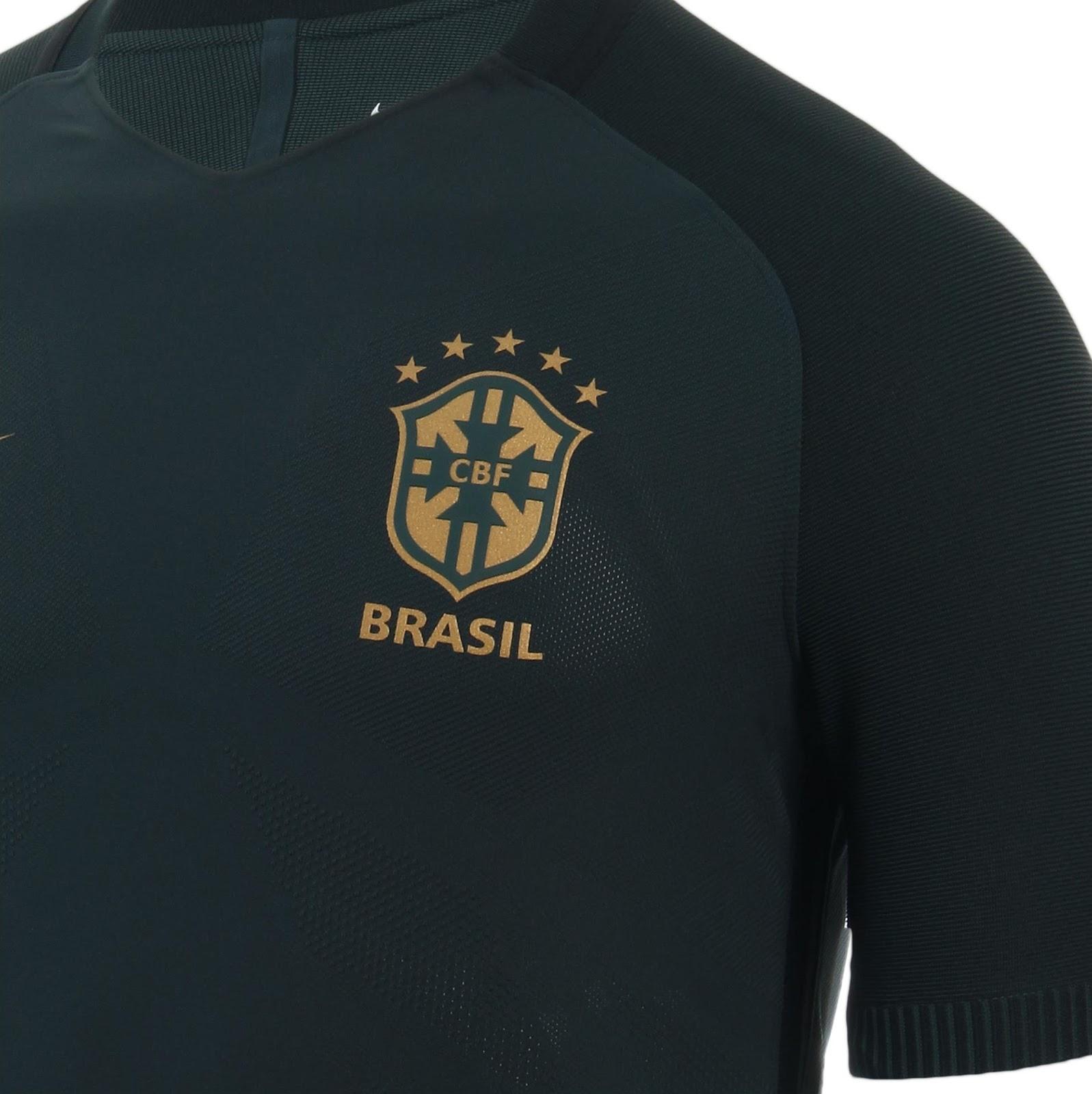 Nike lança a terceira camisa da Seleção Brasileira de futebol - Show ... a9539c39ca431