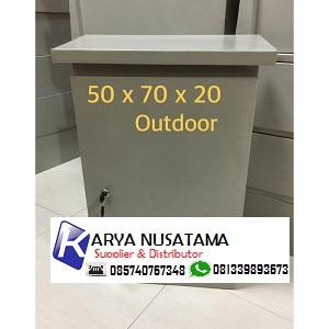 Jual Box Panel Listrik Uk  50x70x20 Outdoor di Kalimantan