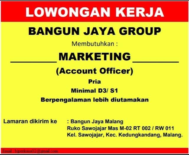 Loker Malang Terbaru Bangun Jaya Group